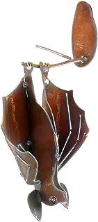 product image for Modern Artisans Hanging Garden Bat, American Handmade : Open Wings, Facing Right