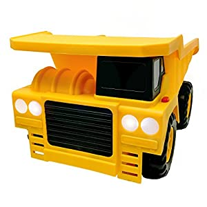 "BOLEY (2-Piece) 18"" Construction Vehicles - Dump Truck and Bulldozer Construction Toys - Button-Activated Light & Sound Construction Trucks, Perfect Truck toy for Toddler Boys"