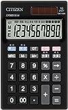 シチズン 手帳サイズ電卓(10桁表示) DE1020