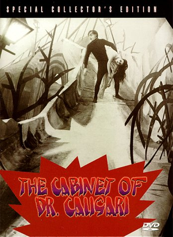 Image result for cabinet of dr caligari dvd