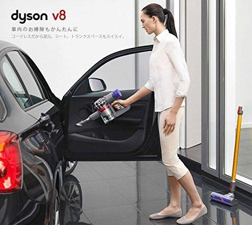 ダイソンdysonV8アブソリュート[SV10ABL]コードレスクリーナー掃除機サイクロン日本正規品