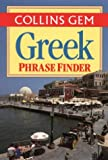 Greek Phrase Finder, Harper Collins, 0004706854