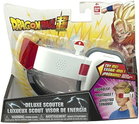 Dragon Ball SFX Deluxe Scouter, Red Lens