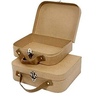 Creativ - Juego de maletas para manualidades (2 unidades)