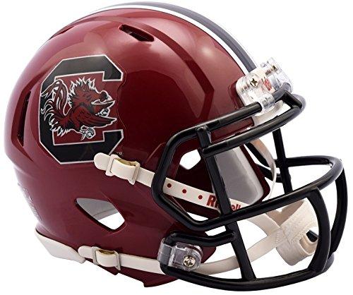 South Carolina Gamecocks Riddell Speed Mini Replica Cardinal Football Helmet