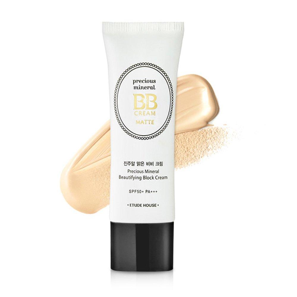 Etude House Precious Mineral Beautifying Block Cream Matte (#Vanilla)