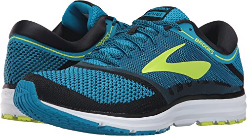 Brooks Men's Revel Methyl Blue/Lime Popsicle/Black 9 D US