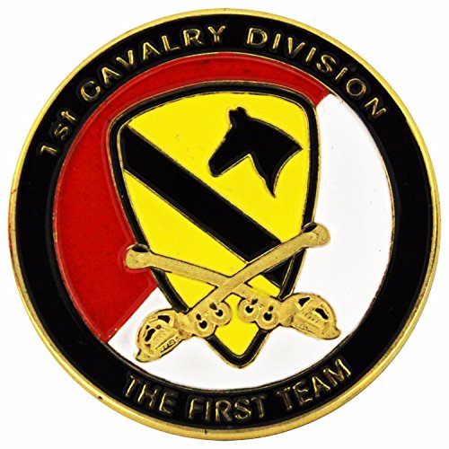 The USA Army 1st Cavalry Division Challenge Coins A018J ()