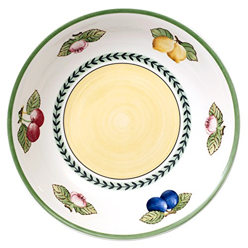 French Garden Pasta Bowl Set of 6 by Villeroy & Boch - 9.25 (Buffet China Bowl)
