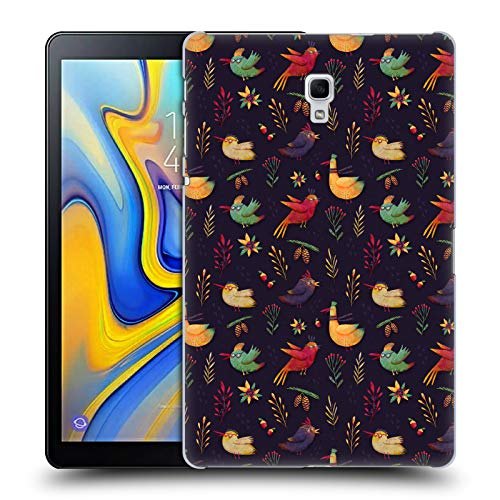 Official Oilikki Birdies Animal Patterns Hard Back Case for Samsung Galaxy Tab A 10.5 (2018) -