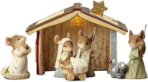Enesco Heart Christmas Nativity Piece