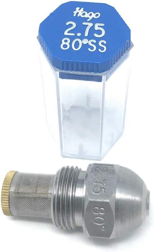 Fluidics Nozzle Oil Burner Nozzle Jet Hollow Cone 0,55//80 ° HF