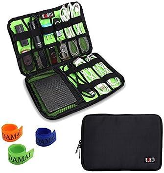 Accesorios Electrónica Bolso de Mano/Organizador del Cable/USB Unidad de traslado/Disco Duro Case- (Negro): Amazon.es: Electrónica