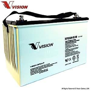 Amazon.com: Vision SCP12110 G31 M8 Battery: Automotive