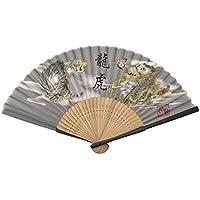 Authentic Japanese Hand Fan - Silk Model: Ryuko !