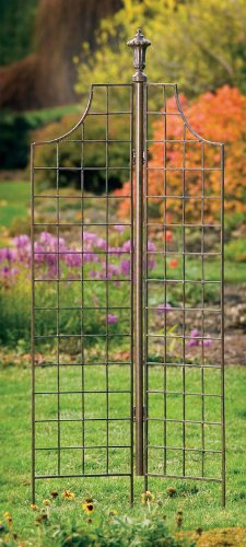 H. Potter Two-panel Garden Screen Trellis Weather Resista...