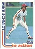 1982 Topps Baseball Card #101 Mike Schmidt