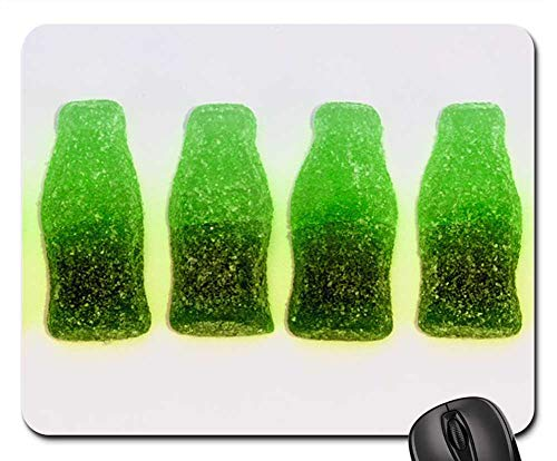 Mouse Pads - Sweets Chewy Bottles Green Dessert Candy Food]()