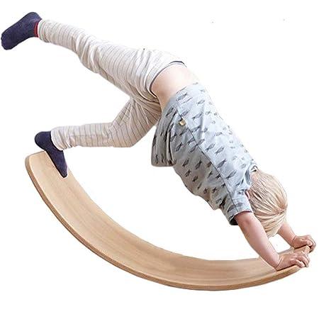 AINY Wobbel de Madera Tabla de Equilibrio Balance Board de ...
