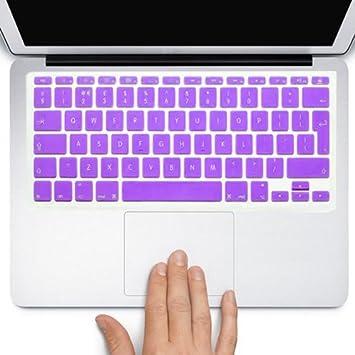 Funda Protector para teclado QWERTY (España) (Intro EU) Silicona para Apple MacBook