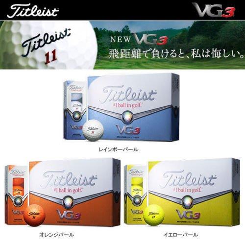 [ titlist ] 2014 vg3ゴルフボールt3023s-j 1ダース( 12個)カラー:オレンジパール   B01IR9ZFPA