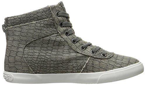Rocket Fashion Cotton Womens Dog Rocket Sneaker California Scales Grey Dog 5qgv10