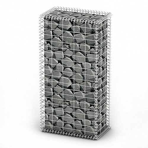 vidaXL Gabion Basket w/Lid Retaining Wall Gardens Edging for sale  Delivered anywhere in USA