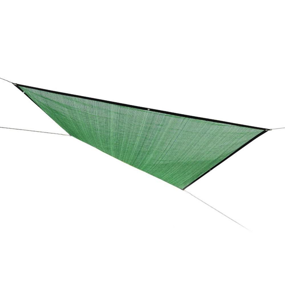 marchio in liquidazione XIAOYAN Shade Sail, Tendina Parasole UV Block Block Block 70% - 75% Tasso di ombreggiatura per Outdoor Garden Party Patio con Corda Gratuita (colore  verde) (Dimensioni   4×4m 13.12×13.12ft)  fino al 65% di sconto