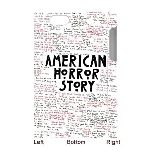 Lycase(TM) American Horror Story DIY 3D Cover Case, American Horror Story Iphone 4,4S Hard Back 3D Case