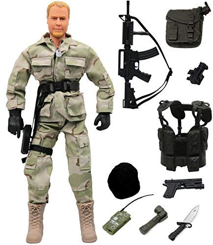 Click N' Play Military Ranger Swat Unit Action 12