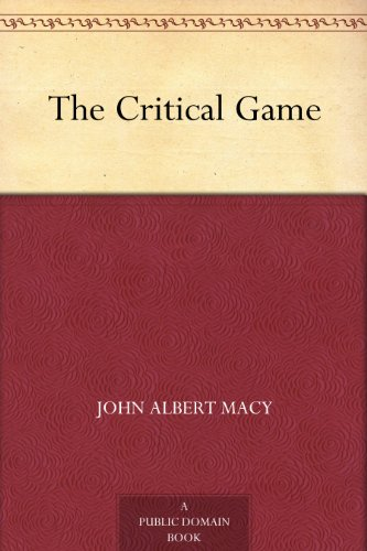 The Critical Game - Domain Macy