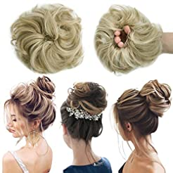 Messy Bun Hair Piece Thick Updo Scrunchi...
