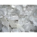 Mineral Import - Puntas de Cuarzo Blanco en Bruto Medianas (pack de 500 gr)