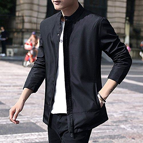 negro hombre un delgado camisa XL los chaqueta casual conjunto La de vino coreana de versión Sau IR hombres en YwFTf