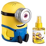 Minions 2 Piece Gift Set with Cool Cologne Spray and Money Box for Kids