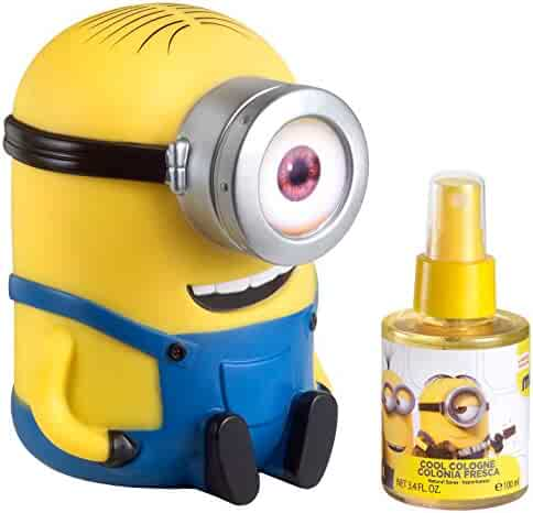 Minions for Kids 2 Piece Gift Set with Cool Cologne Spray and Money Box