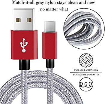 Covery USB C Cable 4 Pk. (1x1ft,2x4ft, 1x6ft) Charger Cord