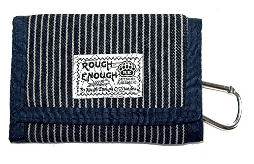 Rough Enough Multifunction Japanese Stylish Minimalist Classic Fashion Slim Small Purse Holder Organizer Security Mens Card Cases with Zipper Coin front Pocket Wallets