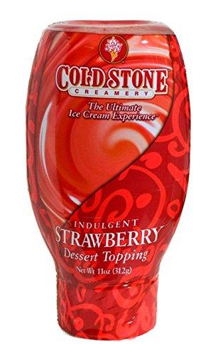 Price comparison product image Cold Stone Strawberry Dessert Topper,  11 Ounce -- 6 per case.