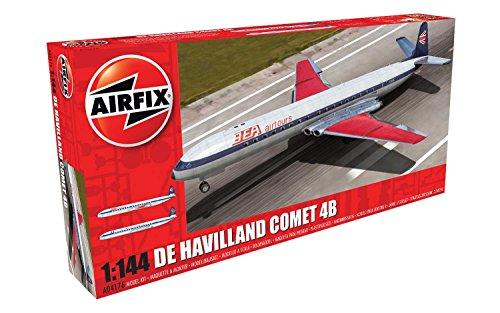 Airfix De Havalland Comet 4B Plastic Model Kit (1:144 Scale)