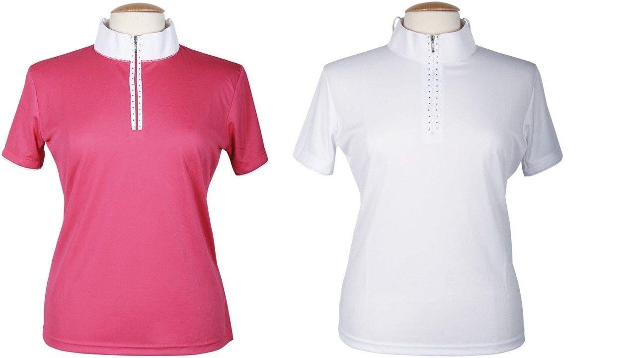 Harry 's Horse–Camiseta de competición para Mujer Champ de 140, Todo el año, Mujer, Color Weiß, tamaño Medium Harry' s Horse 26100560