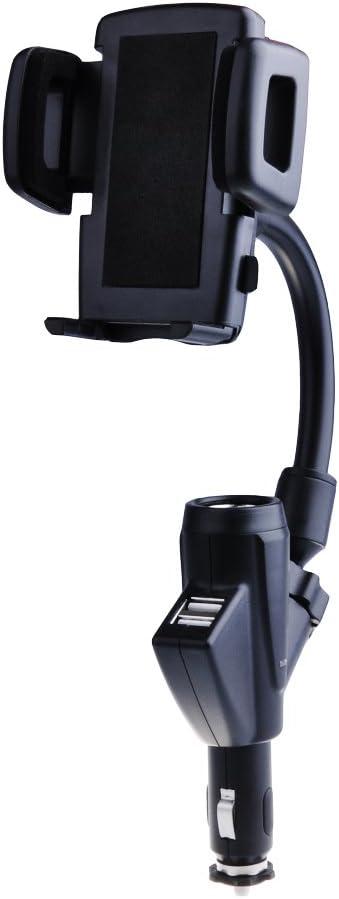 : Patuoxun Dual 2 USB Car Charger Cradle Mount
