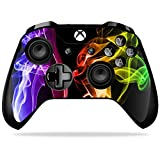 Cheap MightySkins Skin for Xbox One X Controller – Bright Smoke Protective, Durable, and Unique Vinyl Decal wrap cover | Easy To Apply, Remove, and Change Styles | Made in the USA