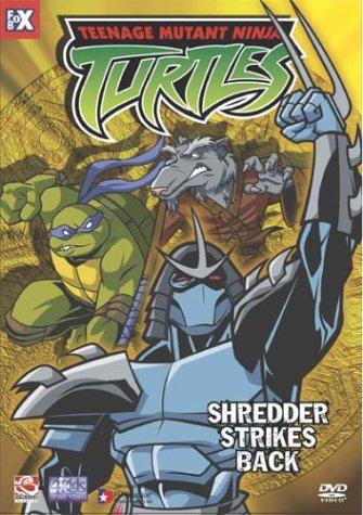 Teenage Mutant Ninja Turtles 6: Shredder Strikes USA DVD ...