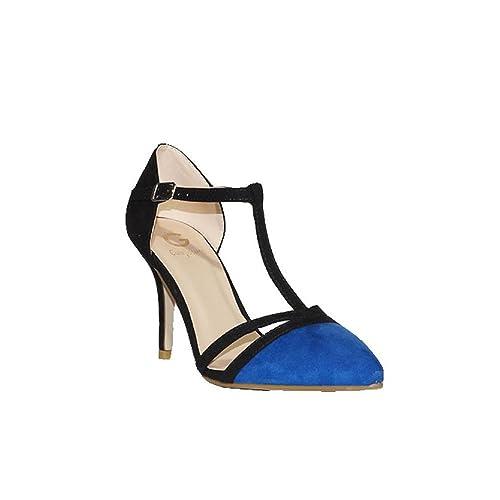 Guapissima Zapato Mujer Elegante Salón Oficina W695 Fina Fiesta Tacón Zapatos Jm P Medio qqrFdawH