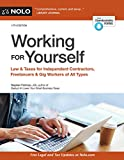 img - for Working for Yourself: Law & Taxes for Independent Contractors, Freelancers & Gig Workers of All Types book / textbook / text book