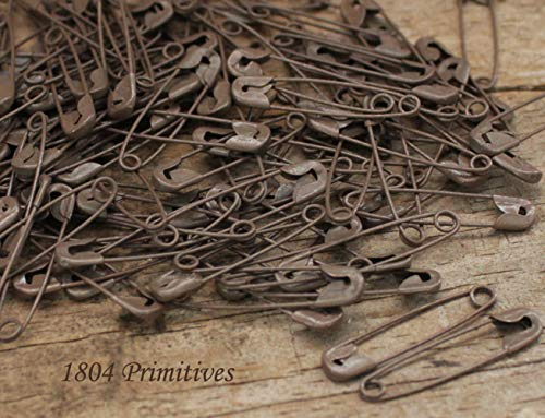 (Inspiration for A Project Ornament 144 Rusty Tin Look 1-1/8'' Safety Pins ~ Primitive Crafts DIY Rustic Primitive Decor Ideas)