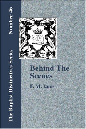 Read Online Behind The Scenes pdf