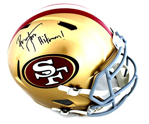 Ronnie Lott Signed San Francisco 49ers Speed Helmet with