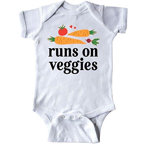Runs On Veggies Infant Creeper
